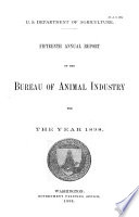 Annual Report of the Bureau of Animal Industry for the Year ...