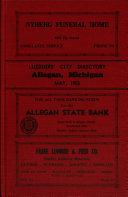 Allegan City Directories