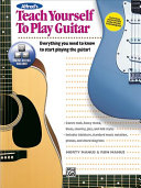 Alfred s Teach Yourself to Play Guitar Book