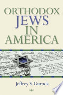 Orthodox Jews in America Book
