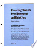 Protecting Students from Harassment and Hate Crime