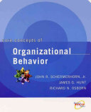 Core Concepts of Organizational Behavior