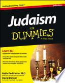 """Judaism For Dummies"" by Rabbi Ted Falcon, David Blatner"