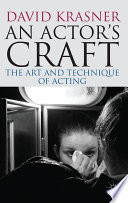 An Actor S Craft Book