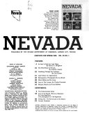 Nevada Highways and Parks