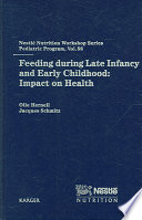 Feeding During Late Infancy and Early Childhood