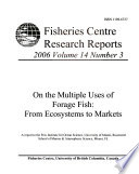 Fisheries Centre Research Reports