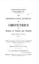Hom  opathic Journal of Obstetrics  Gynaecology and Pediatrics