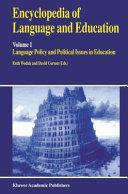 Encyclopedia of Language and Education