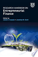 Research Handbook On Entrepreneurial Finance