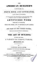 The American Builder's General Price Book and Estimator