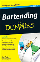 """Bartending For Dummies"" by Ray Foley"