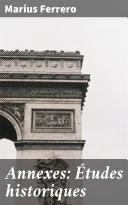 Pdf Annexes: Études historiques Telecharger