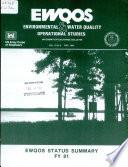 EWQOS  Environmental   Water Quality Operational Studies Book