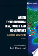ASEAN Environmental Law  Policy and Governance