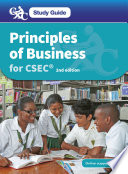 CXC Study Guide  Principles of Business for CSEC
