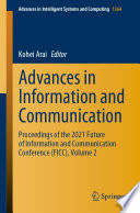 Advances in Information and Communication Book