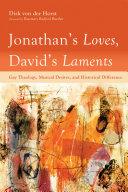 Jonathan's Loves, David's Laments Book