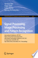 Signal Processing  Image Processing and Pattern Recognition