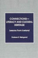 Connections  literacy and Cultural Heritage Book