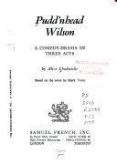 Pudd nhead Wilson Book PDF