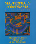 Masterpieces of the Drama Book