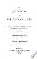 The Plain Guide to Universalism