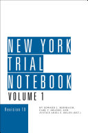 New York Trial Notebook
