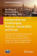 Transportation and Geotechniques: Materials, Sustainability and Climate [Pdf/ePub] eBook