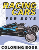 Racing Cars Coloring Book For Boys