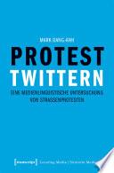 Protest twittern