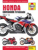 Honda CBR1000RR Fireblade  08 To  13