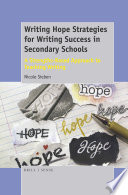 Writing Hope Strategies for Writing Success in Secondary Schools
