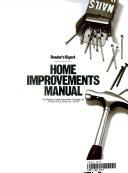 Home Improvements Manual Book