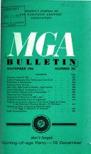 MGA Bulletin