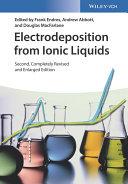 Electrodeposition from Ionic Liquids Pdf/ePub eBook