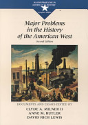 Major Problems in the History of the American West