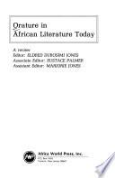 Orature in African Literature Today