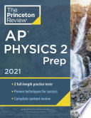 Princeton Review AP Physics 2 Prep 2021