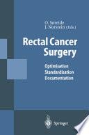 Rectal Cancer Surgery