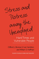 Pdf Stress and Distress among the Unemployed