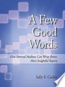 A Few Good Words