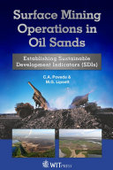 Pdf Surface Mining Operations in Oil Sands