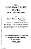 The Hindu-Muslim Riots