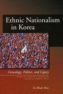 Ethnic Nationalism in Korea