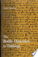 Bodily Dimension In Thinking The
