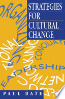 Strategies For Cultural Change PDF