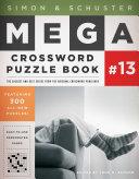 Simon   Schuster Mega Crossword Puzzle Book  13