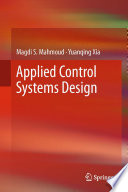 Applied Control Systems Design Book