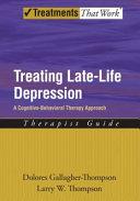 Treating Late Life Depression